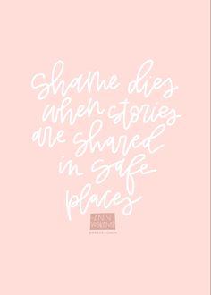 Shame quotes. Vulnerability. Ann Voskamp. Shame Quotes, Vulnerability, Favorite Quotes, Ann, Words, Horse