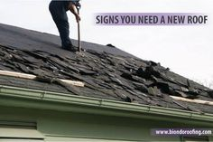"Roof always has damaged over the time but most of people don't care about it. Until one day you must wake up and find bucket because water is pouring through the ceiling. Read it. This is a useful article about ""Signs You Need Roof Repairs"" http://biondoroofing.com/roof-repairs-signs-you-need-a-new-roof/"