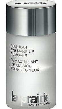 La Prairie Cellular Eye Makeup Remover, 125ml This ultra-gentle, dual-phase liquid cleanser, specially formulated for the area surrounding the eyes, not only effectively removes makeup - even stubborn waterproof eye makeup - but also calms, sooth http://www.comparestoreprices.co.uk/health-and-beauty/la-prairie-cellular-eye-makeup-remover-125ml.asp