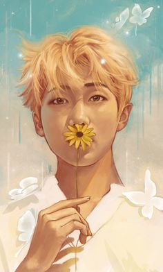 i noticed there were a lot of fanarts for this pic when it was namjoon's bday omggg so prettyy