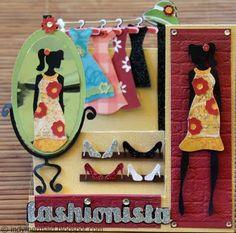 A Mermaid's Crafts: Getting Cricky Guest Designer - Fashionista! ~ indymermaid.blogspot.com