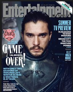 Entertainment Weekly June 2017 Game Of Thrones Kit Harington Jon Snow | eBay