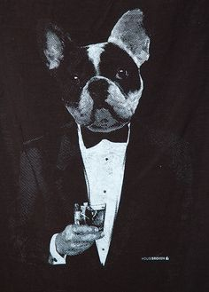 Boston Terrier T-Shirt. French Bulldog by HouseBrokenClothing