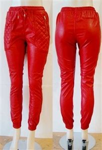 Red Leather Joggers sold by UNLUCKY SEVEN. Shop more products from UNLUCKY SEVEN on Storenvy, the home of independent small businesses all over the world. Red Joggers, Leather Joggers, Pu Leather, Indie Brands, Stuff To Buy, Shopping, Things To Sell, Summer, Ideas