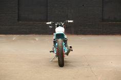 Kawasaki W650 Street Tracker by Hombrese Bikes #motorcycles #streettracker #motos   caferacerpasion.com