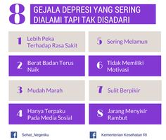 Gejala Depresi Yang Tak Disadari ~ Infografis Kesehatan Mental Health, Health Care, Feeling Stressed, Study Motivation, Mood Quotes, Healthy Tips, Health And Beauty, Herbalism, Psychology