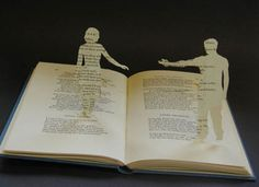 Books:  Book coming to life