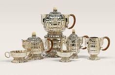 Чайно-кофейный сервиз Отто Пручера / Art Deco Tea and Coffee Service by Otto Prutscher (1880-1949)