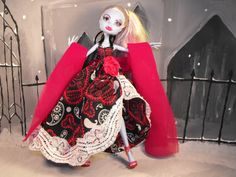 Day of The Dead Senorita Gown for Monster High by FreakGearbyHM, $19.95