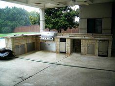 Outdoor Kitchen Design Southlake Texas