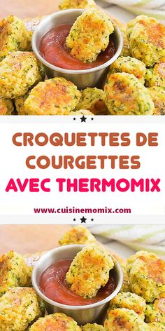 Croquettes de Courgettes avec thermomix - My CMS Healthy Meals For Kids, Healthy Meal Prep, Healthy Breakfast Recipes, Easy Healthy Recipes, Healthy Snacks, Vegetarian Recipes, Easy Meals, Vegetarian Wraps, Snacks Kids