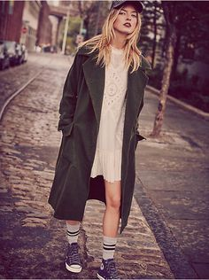 Free People Maxi Swing Trench, $348.00