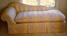 Chelsea Upholstery & Roman Shades Soft furnishings for Interiors San Rafael Ca. by appointment 453 6474 custom made chaise lounge