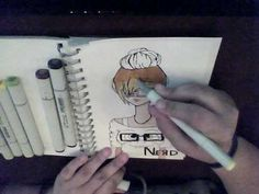Copic Marker anime Tutorial. - anime, Copic, Marker, tutorial