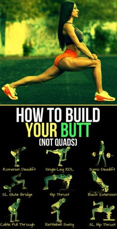 There's no shortage of effective butt exercises out there, but what gives when they just don't feel all that effective for you? If your glutes take a rain check while your legs put in the all the work during lower-body exercise Fitness Workouts, Fitness Gym, Butt Workout, At Home Workouts, Fitness Motivation, Health Fitness, Glute Workouts, Hamstring Workout, Band Workouts