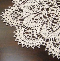 Vintage doilies, mother made these.