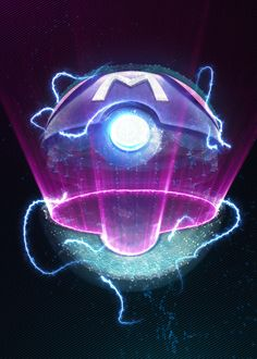 """Beautiful Masterball Neon Light"""" metal poster created by Jose Barrera. Our Displate metal prints will make your walls awesome. Gaming Posters, Pop Art Posters, Poster Prints, Pokemon Go Team Valor, Funny Phone Wallpaper, Neon Lighting, Aesthetic Wallpapers, Neon Signs, Make It Yourself"""