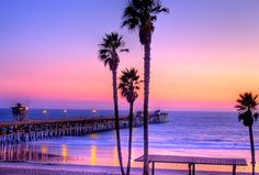 Pastel Sunset, Huntington Beach, California-spent many hours and days here in my youth Beautiful Sunset, Beautiful Beaches, Beautiful World, San Clemente Pier, Huntington Beach California, Pastel Sunset, Purple Sunset, Pink Sky, Dream Vacations