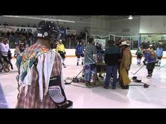 """Battle of the Little Big Puck - http://www.maplecreek.ca/ This Hockey Game is truly """"Maple Creek"""". Locals from the Nekaneet First Nation and locals from the ranching community play hockey against one another in this epic hockey game that has been thirty years running! The third period is well worth waiting for, as that is when the """"cowboys"""" and the """"Indians"""" finish the game in full cowboy gear or Pow Wow Regalia! Proceeds from this very colourful and fun event always go to a local charity."""