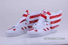new product 81b1a 7a04b American Flags White Red Shoes Adidas Jeremy Scott Wings 2.0 Dropshipping  Wear Resistance Graceful Origin TopDeals, Price   95.50 - Adidas Shoes, Adidas Nmd ...