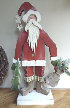*Bestellartikel* Nikolaus  (52cm) von Woodlouse auf DaWanda.com