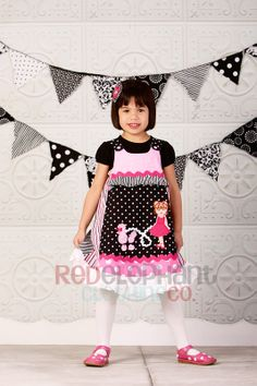 french poodle party supplies | Pink Poodle in Paris Dress, Birthday Party Supplies
