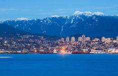 Beautiful Vancouver city