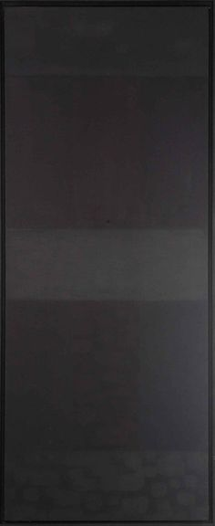 Ad Reinhardt: Abstract Painting # 20, 1956. Oil on canvas. 127 x 50,8 cm. Collection of Art, Ruhr University Bochum.