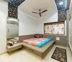 Dupex bungalow at Kolhapur designed by Culturals interior designers Bedroom Bed Design, Bedroom Furniture Design, Modern Bedroom Design, Bedroom Decor, Bed Furniture, Kids Bedroom, Kitchen Door Designs, Bedroom Dressing Table, Home Design Plans
