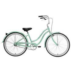Beach Blossom Cruiser Bike in mint green ...dreamy