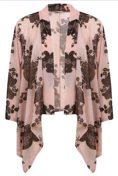 Miss Selfridge kimono, £34