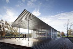 Architecture Research Office (ARO) -  kayak pavilion in Beacon, New York