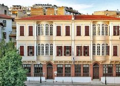 Library of Ano Poli Thessaloniki, Mansions, House Styles, Lifestyle, History, Home Decor, Historia, Decoration Home, Manor Houses