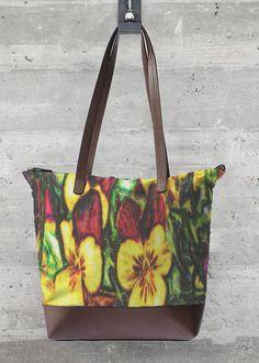 VIDA Statement Bag - Purple Flower Bag by VIDA 1OVRjXKzMS