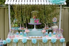 Party Inspirations: Natasha's Mermaid Party By Party Inspirations