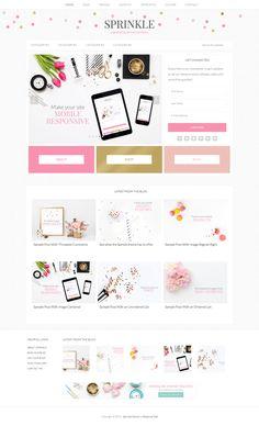 See 63 modern, beautiful feminine WordPress themes for women businesses and creatives. Blog Design, Web Design Inspiration, Simple Website, Ipad, Photoshop, Website Themes, Web Layout, Premium Wordpress Themes, Graphic