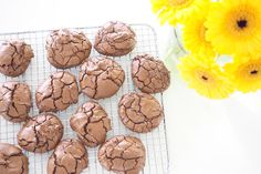Chocolate Brownie Cookies Chocolate Brownie Cookie Recipe, Chocolate Brownie Cookies, Fudge Brownies, Family Meal Planning, Latest Recipe, How To Make Chocolate, Tray Bakes, Sweet Recipes, Cookies Et Biscuits