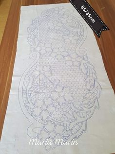 Crochet ideas that you'll love Embroidery Flowers Pattern, Flower Patterns, Embroidery Stitches, Hand Embroidery, Embroidery Designs, Machine Quilting Patterns, Quilt Patterns, Wood Craft Patterns, Romanian Lace