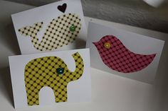 Use fabric to add detail to cards with the #Cricut!