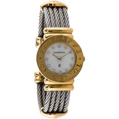 Pre-owned Charriol Philippe Charriol Watch (2,610 SAR) ❤ liked on Polyvore featuring jewelry, watches, preowned watches, bezel watches, pre owned jewelry, stainless steel jewelry and stainless steel wrist watch