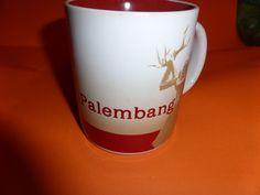 Starbucks City Mug PALEMBANG ( SELTEN )