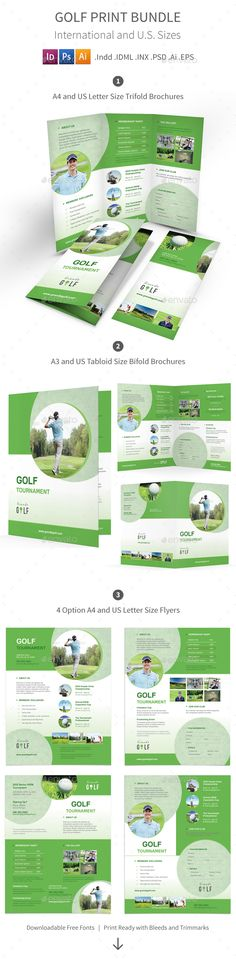 Golf Tournament Flyer  Sample Golf Tournament Flyer  Golf