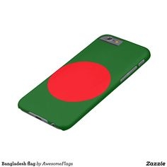 Bangladesh flag barely there iPhone 6 case