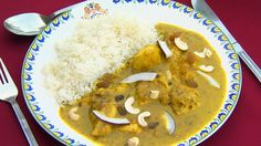 no - Finn noe godt å spise Indian Food Recipes, Asian Recipes, Ethnic Recipes, Korma, Hummus, Thai Red Curry, Recipies, Cooking Recipes, Lunch