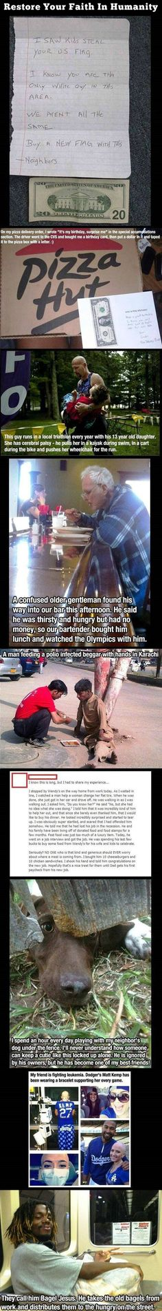 People being the change they wish to see in the world. Made me cry