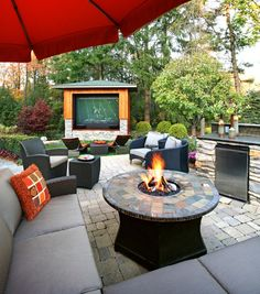For my Hubby - add a pool & hot tub and this would be his dream-come-true back yard.