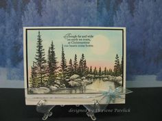 Holiday Serenity by akronstamperdpk - Cards and Paper Crafts at Splitcoaststampers