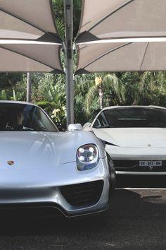 "w-canvas: ""Porsche 918 Spyder and Ferrari 458 Italia   Photographer"""