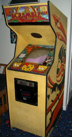 scramble arcade game | No one could ever beat me on this odd game.