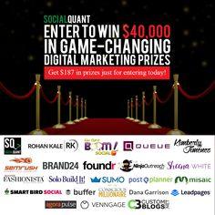 $40,000 Worth of Free Digital Marketing Tools and $187 in Prizes Just for Entering! #digitalmarketing #marketing #digital #smm #socialmediamarketing #marketingagency #marketingtools